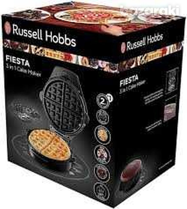 Russel hobbs device for preparing waffles muffins and donuts-1