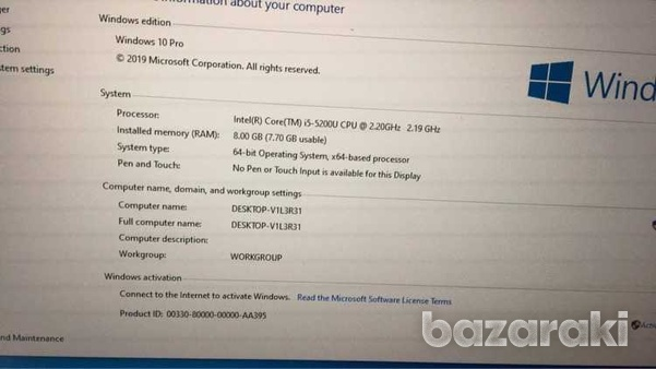 Laptop lenovo i5 with ssd-6