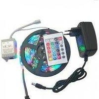New led 5m with adapter and remote control