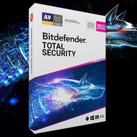 Bitdefender internet security antivirus 1-year license
