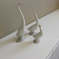 Lladro ducks set of 3