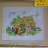 Post box cottage hand made