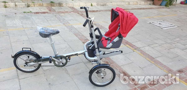Bicycle and baby pram in one-8