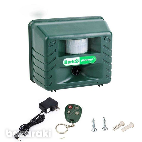Bark stop pro - bark control device and pest repellent