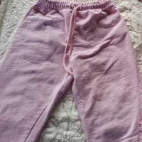 Baby girl's pink joggers pants 12-18 months