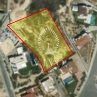 Residential land of 3551 sqm at paniotis in germasogeia