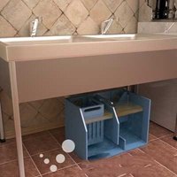 Compact grease trap