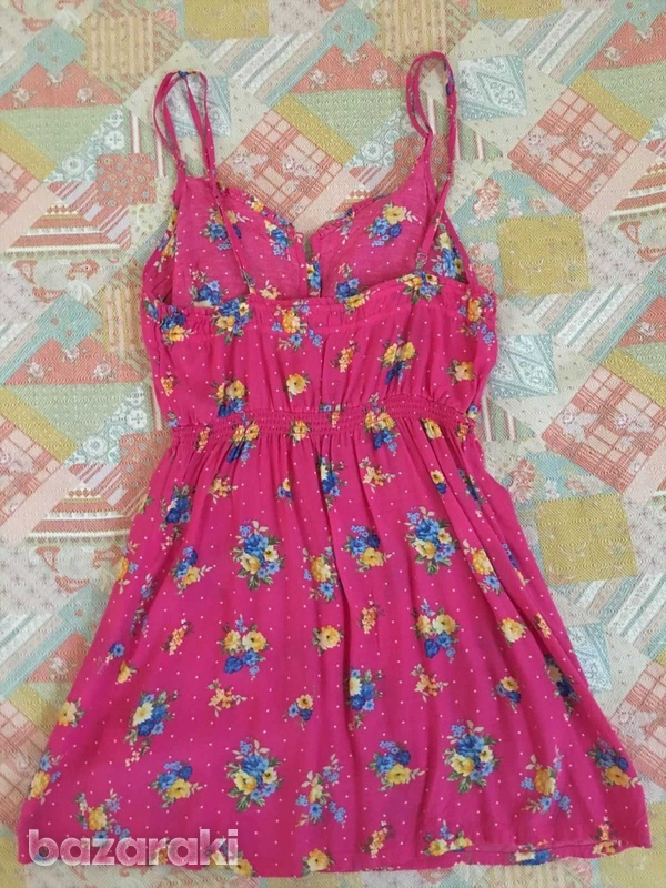 Abercrombie and fitch kids girls floral dress sz l-2