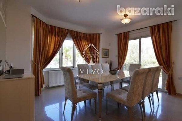 Fully furnished villa of 5 bedrooms with pool on the hills of pyrgos-5