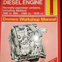 Haynes workshop manual vauxhall opel diesel engine 1 6 and 1 7 1982 1994
