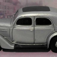 Collectors dinky dy5 b 1950 ford v8 pilot in silver scale 1 43