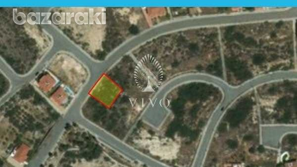 Commercial plot of 580 sq.m in germasogeia