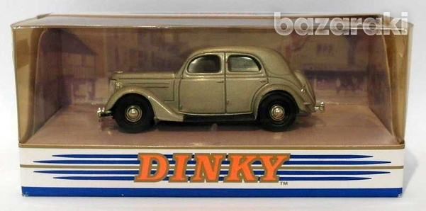 Collectors dinky dy5 b 1950 ford v8 pilot in silver scale 1 43-2