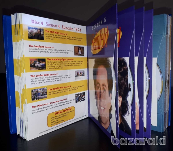 Seinfeld the complete series dvd box-set, region 1-2