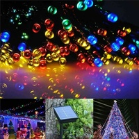 20 m 200led solar string light waterproof fairy outdoor garden decor l