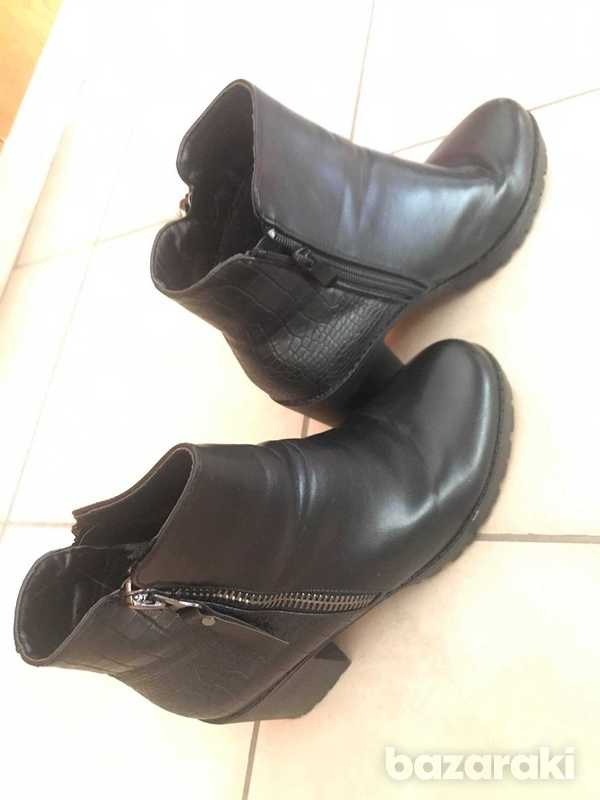 Black ankle boots size 38-2