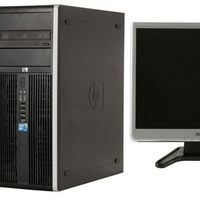 Hp compaq 8000/monitor/kb/mouse