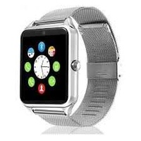 Smart watch stainless steel for android ios iphone
