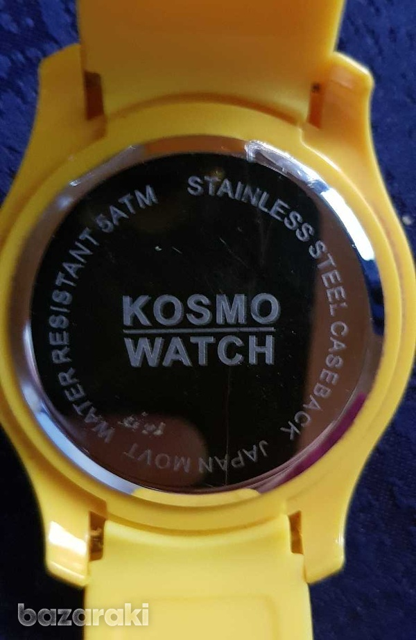 Cosmo watch water resistant 5 atm-3