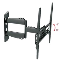 Armo full-motion wall mount psw851m black 32inches to 50inches