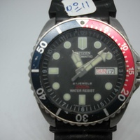Citizen automatic 21 jewels 200m water resist