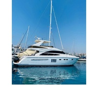 Yacht princess 62 for private charters in cyprus