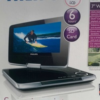 Philips 7-inch portable dvd player