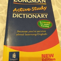 Longman active study english dictionary