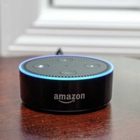 Amazon echo dot 2nd generation alexa + speaker in great condition