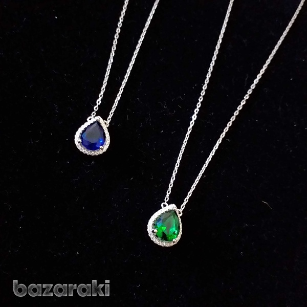 New silver necklaces