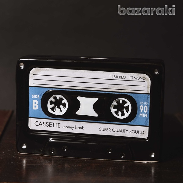 Cassette tape money bank