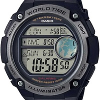Casio watch ae-3000w waterproof watch