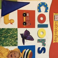 Teaching colors and vocab book