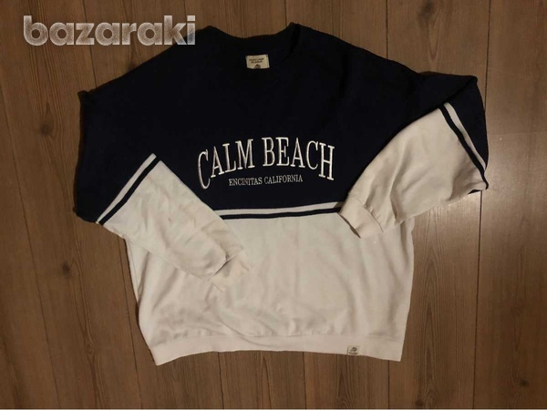 Pull and bear sweatshirt large-1