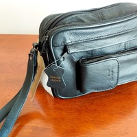 New genuine leather men bag