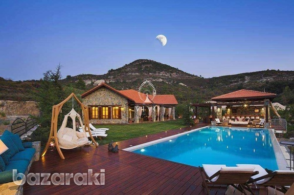 Under construction breathtaking mountain villa with panoramic views-1
