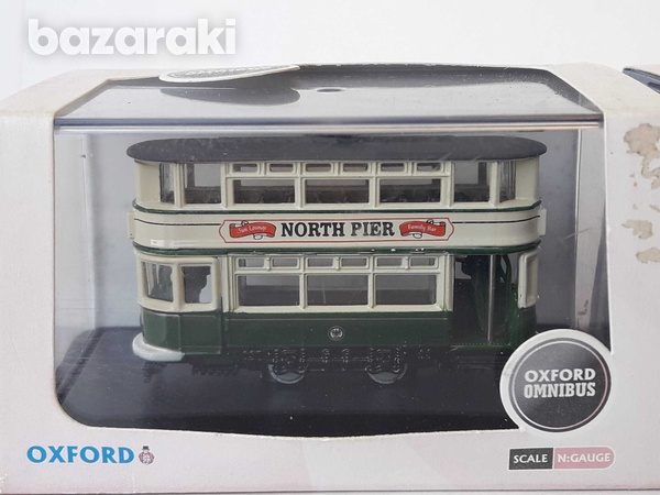 Vintage collectible lot of 3 trams corgi and oxford boxed.-4