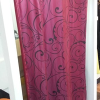 Curtain for fitting rooms