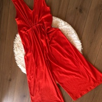 Zare red jumpsuit - medium