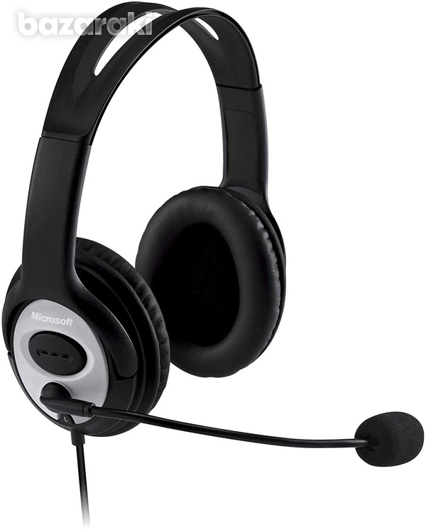 Microsoft lifechat lx-3000 headset black-1