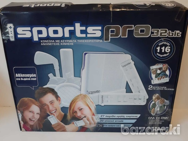 I sport pro video game console with 116 games preinstalled-1