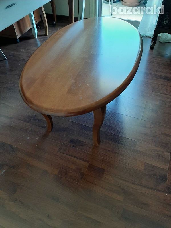 Oval coffee table-1