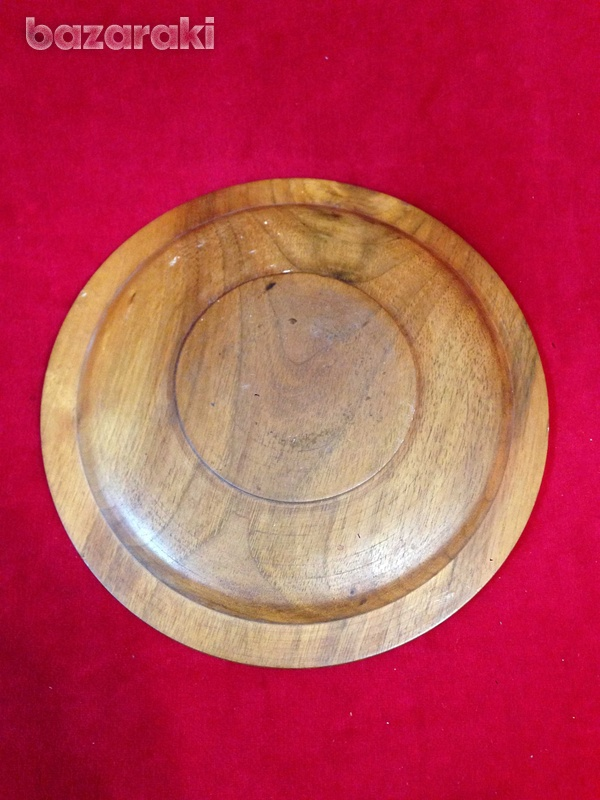 Wooden display plate-3