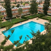 Studio palm beach complex with pool tennis at germasogeia tourist area