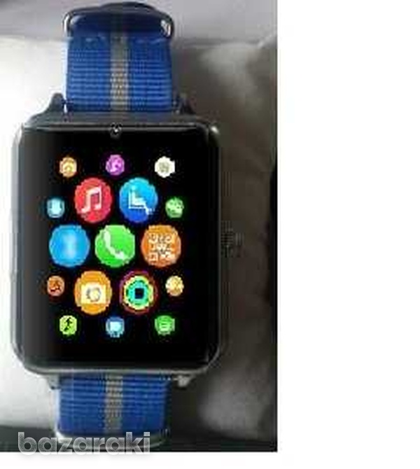 Just in z60i bluetooth smart watch phone mate stainless steel-1