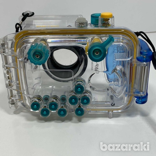 Canon camera with waterproof case - scuba diving-3