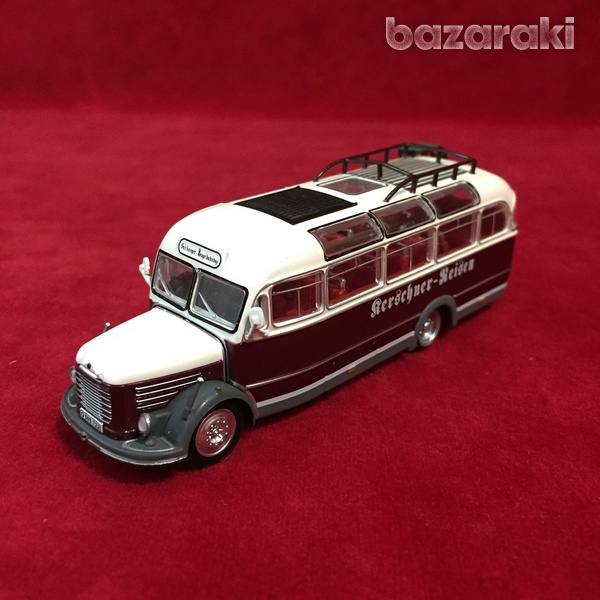 Collectible steyr 380 q bus 1/72 scale-3