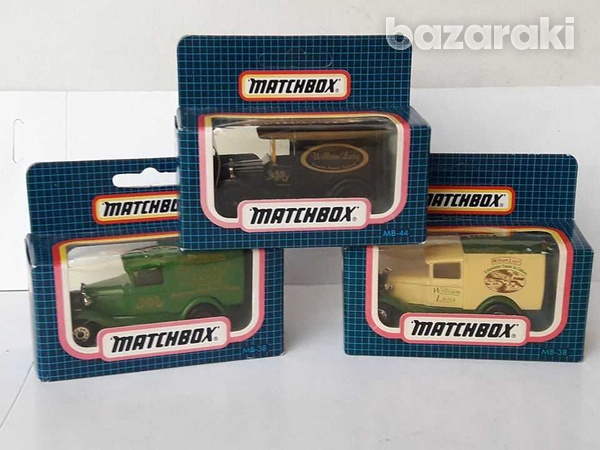 Collectible matchbox diecast model cars william lust-1