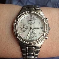 Beautiful ladies citizen chronograph watch