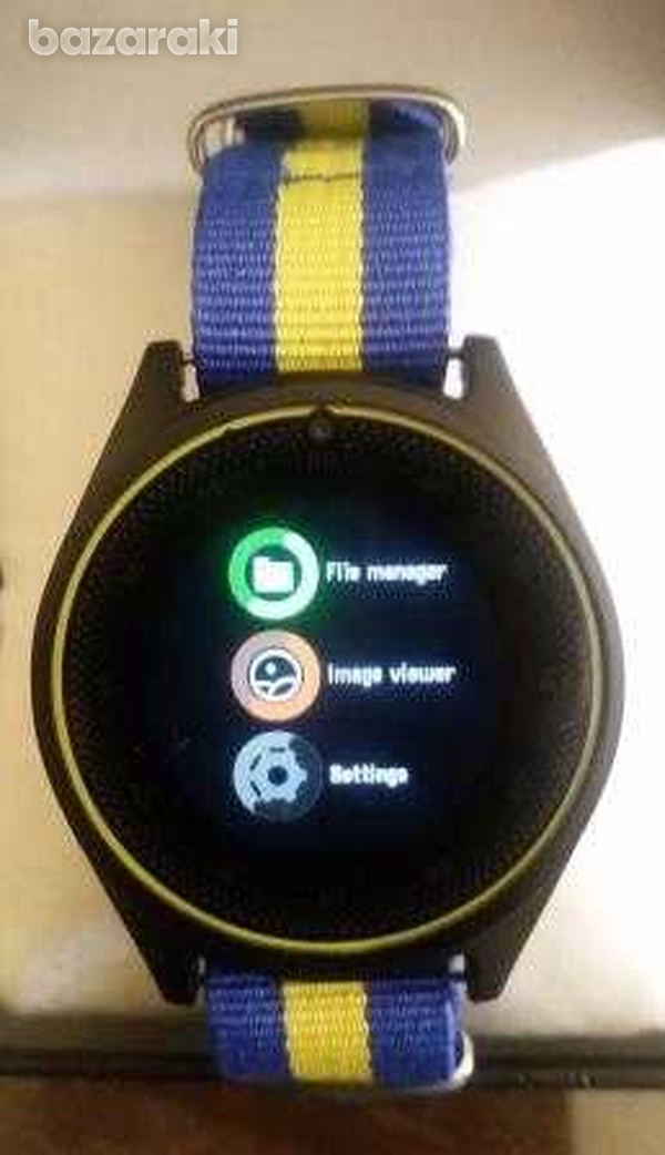New in v9i smart watch with sim card slot camera bluetooth for android-2
